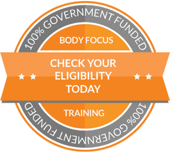 Government Funding for Personal Training Courses Badge